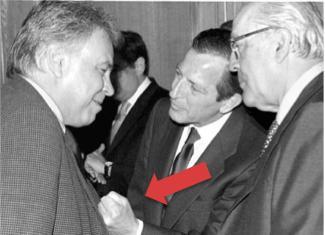 Los tres expresidentes: Adolfo Suárez, Felipe González y Leopoldo Calvo Sotelo