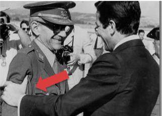 El expresidente con el general Gutiérrez Mellado
