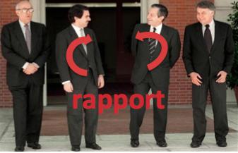 Suárez con Aznar, González y Calvo Sotelo