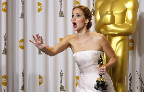 La sorpresa de Jennifer Lawrence