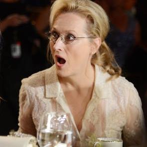 La sorpresa de Meryl Streep