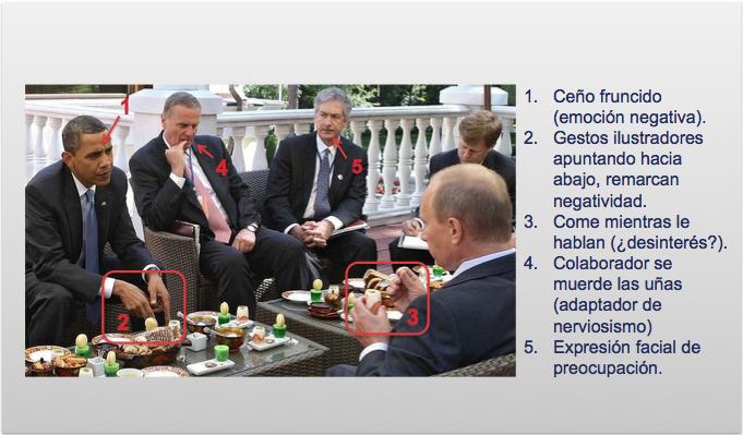 Desayuno de Obama y Putin
