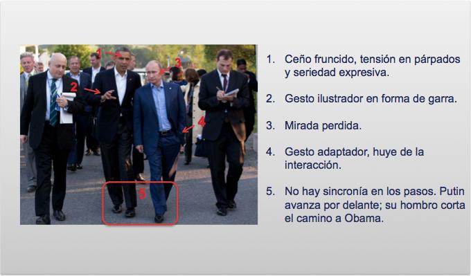 Putin y Obama caminando en su tercer encuentro