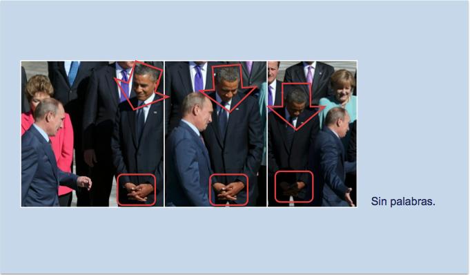 Las imágenes hablan por sí solas en el cuarto encuentro de Obama y Putin