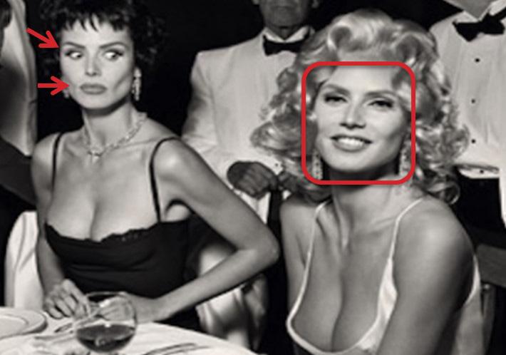 Imitación Heidi Klum