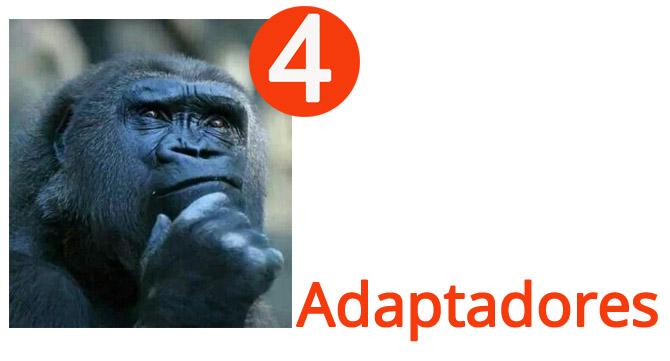 4 gestos adaptadores