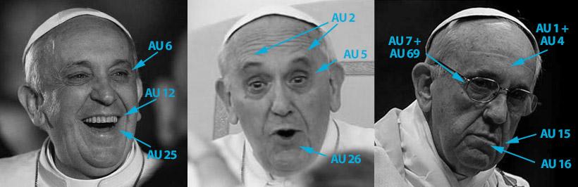 Las tres expresiones más caracteristicas de papa Francisco