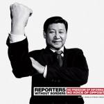 Xi Jinping protagoniza este anuncio de Reporteros sin Fronteras
