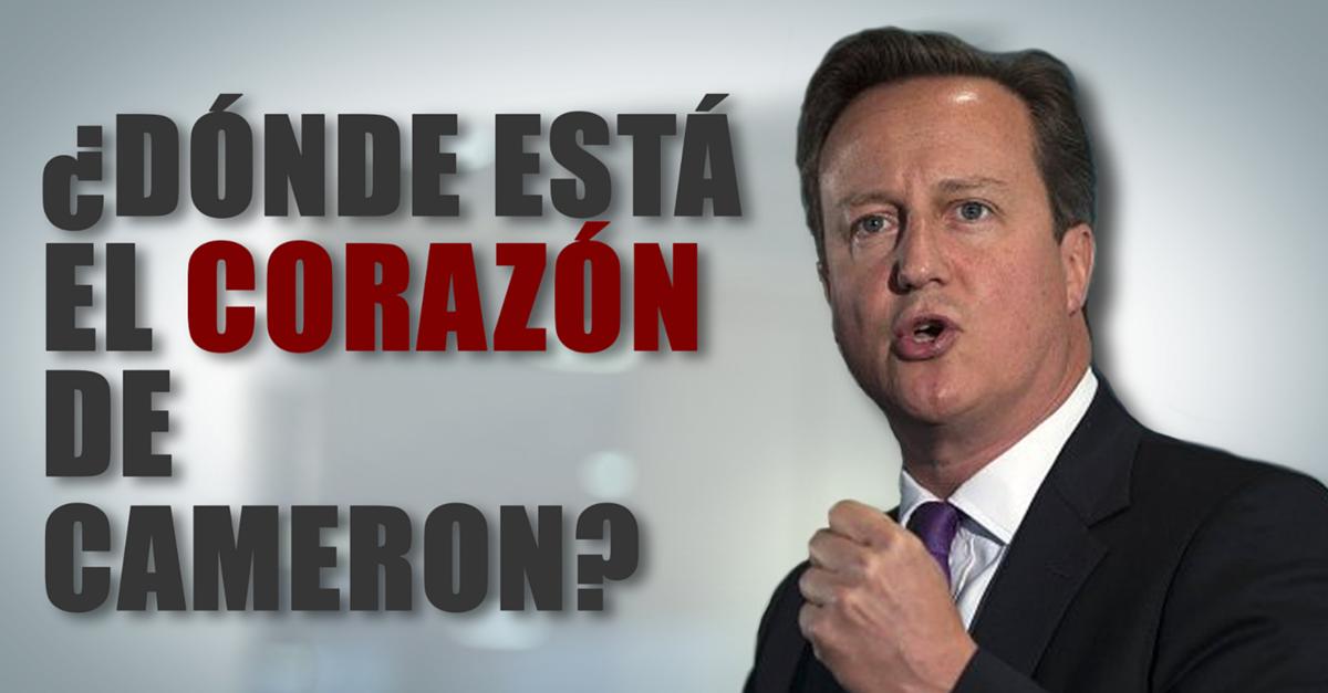 Comunicación no verbal de David Cameron