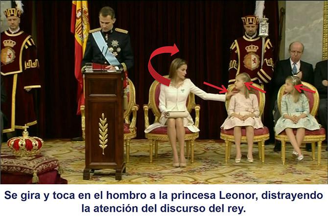 Un nuevo gesto adaptador realizado por la reina Letizia