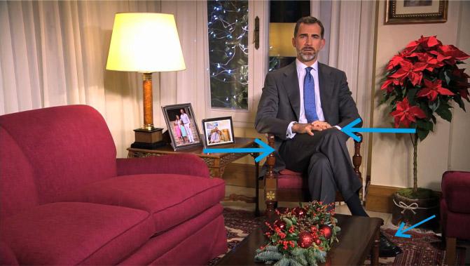 Felipe VI decide cambiar de escenario para su primer discurso navideño