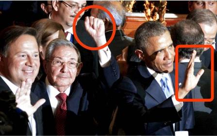 Castro y Obama: diferencia en su gestualidad