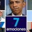 Las siete emociones básicas en los rostros de los líderes mundiales