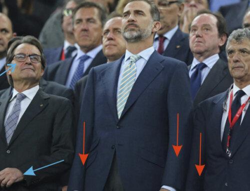 La gestualidad cómplice de Artur Mas