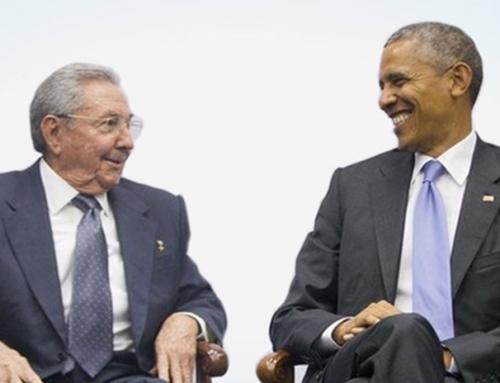 Castro y Obama, más que un apretón de manos