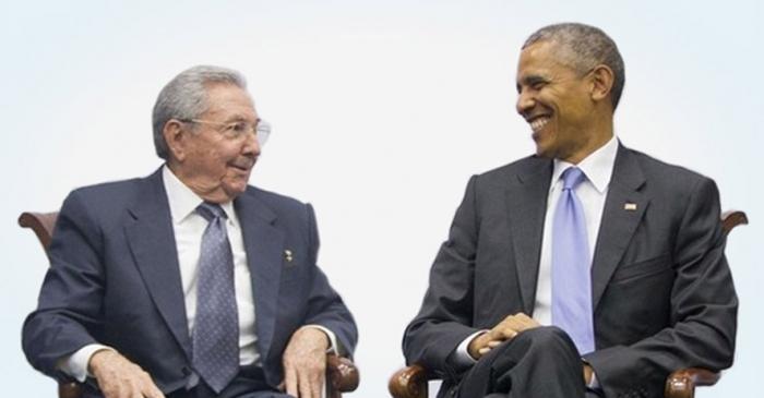 Castro y Obama, mucho más que un apretón de manos