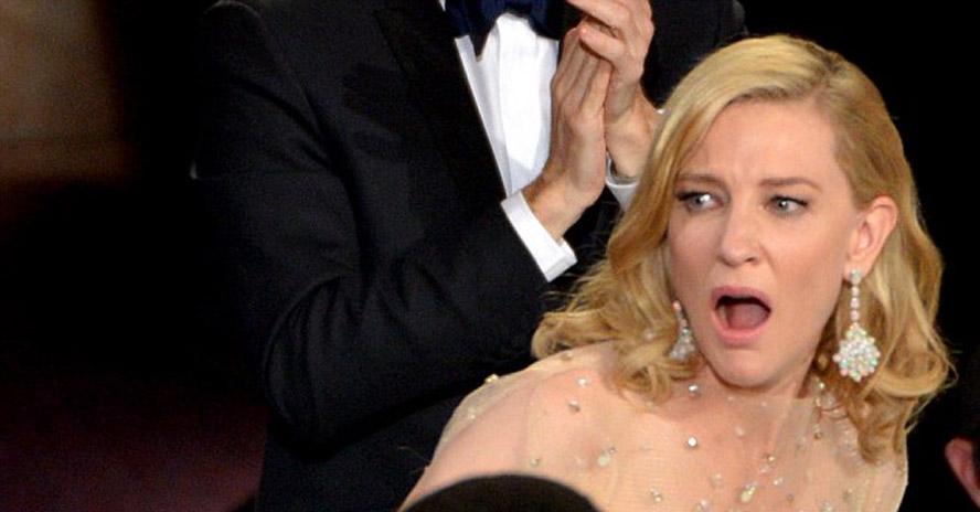 La sorpresa de Cate Blanchett
