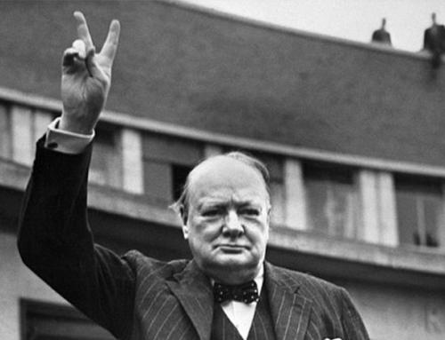 ¿La victoria de Churchill?