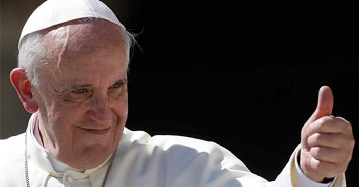 Las tres caras de papa Francisco