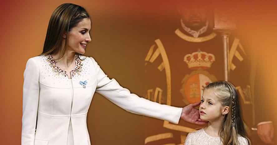 Análisis del comportamiento no verbal de la reina Letizia
