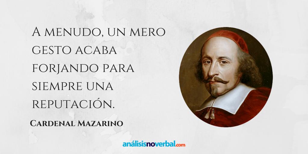 Cita del cardenal Mazarino