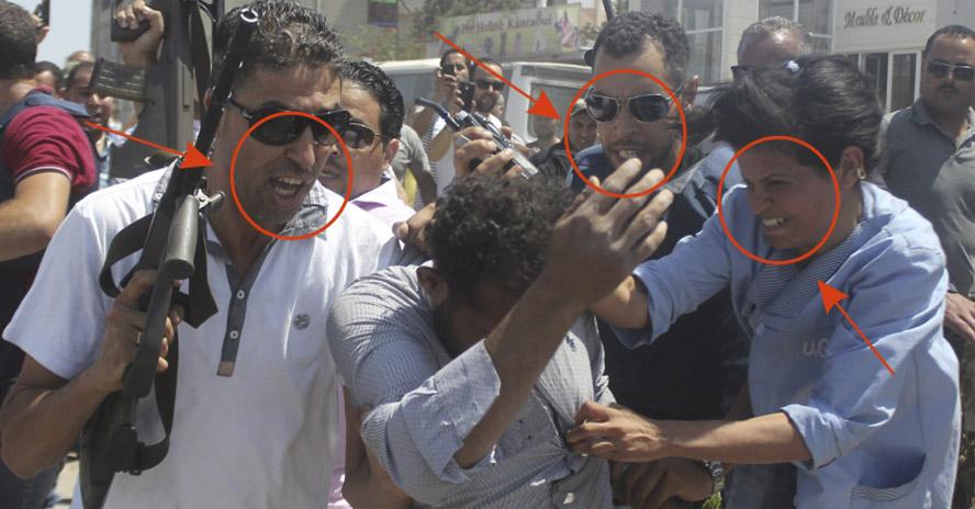 Expresión de ira ante los atentados de Túnez
