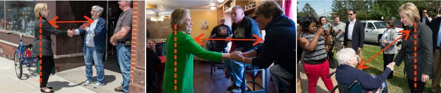 Los secretos del lenguaje corporal de Hillary Clinton