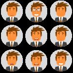 Lenguaje corporal: expresiones faciales