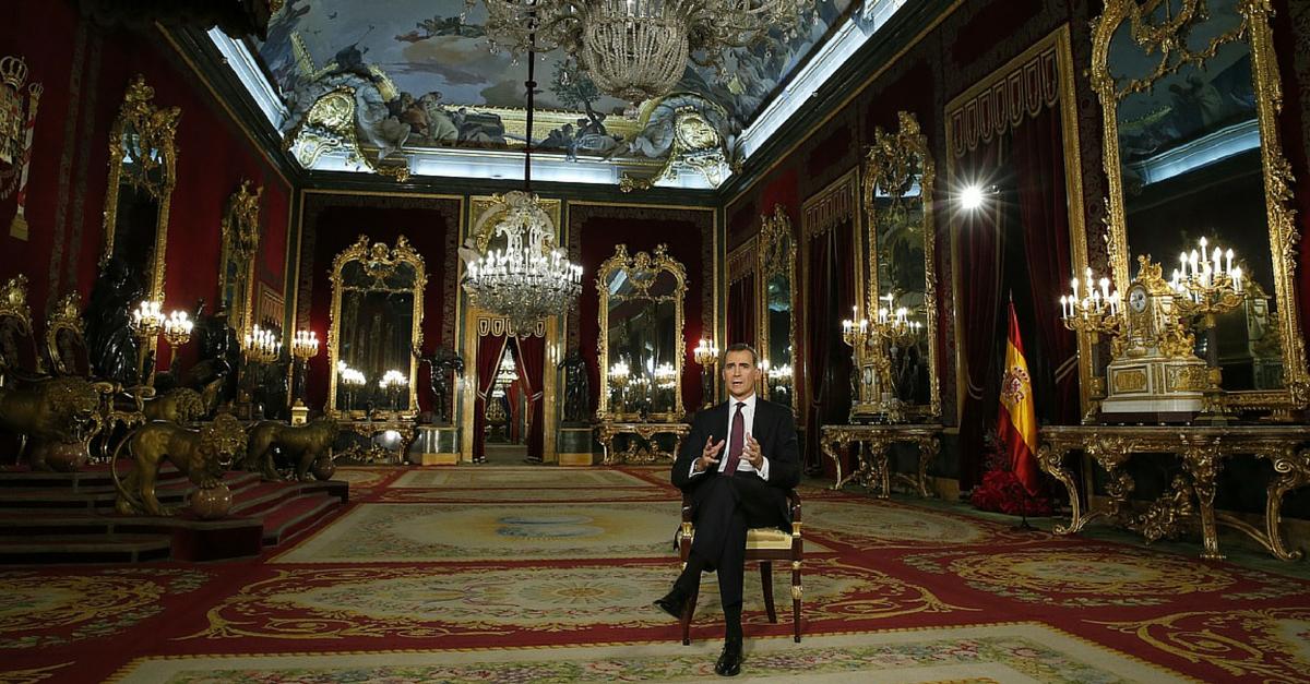 Comunicación no verbal del discurso de Navidad de Felipe VI
