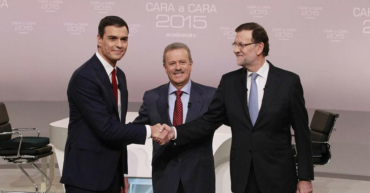 La comunicación no verbal en el cara a cara de Rajoy y Sánchez