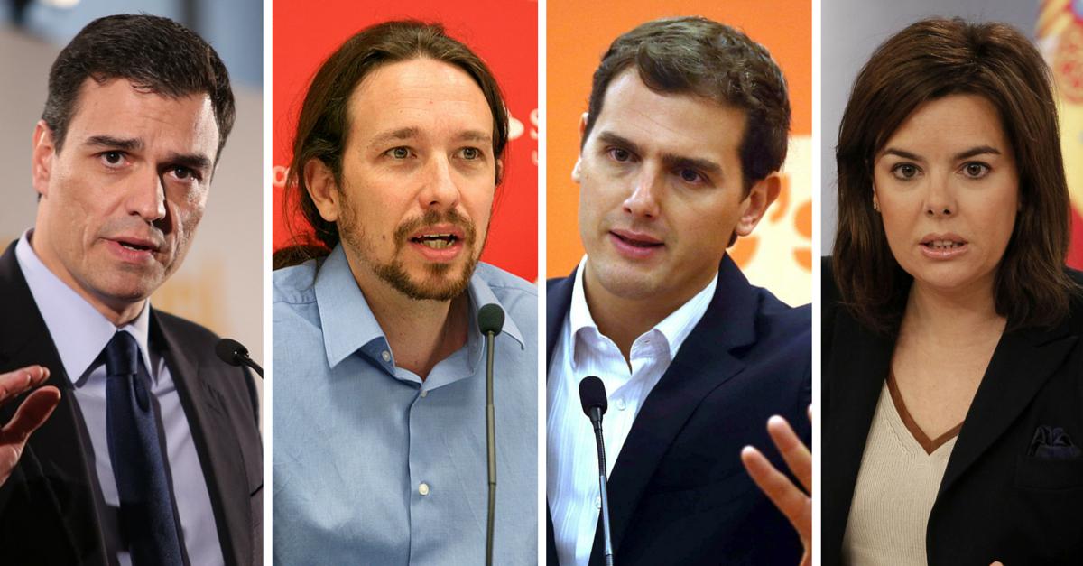 Debate electoral a cuatro y comunicación no verbal