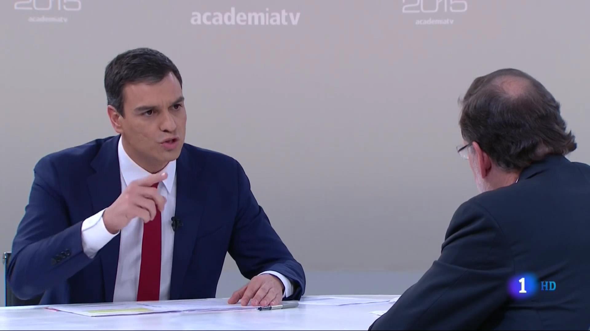 La comunicación no verbal de Pedro Sánchez en el debate con Rajoy