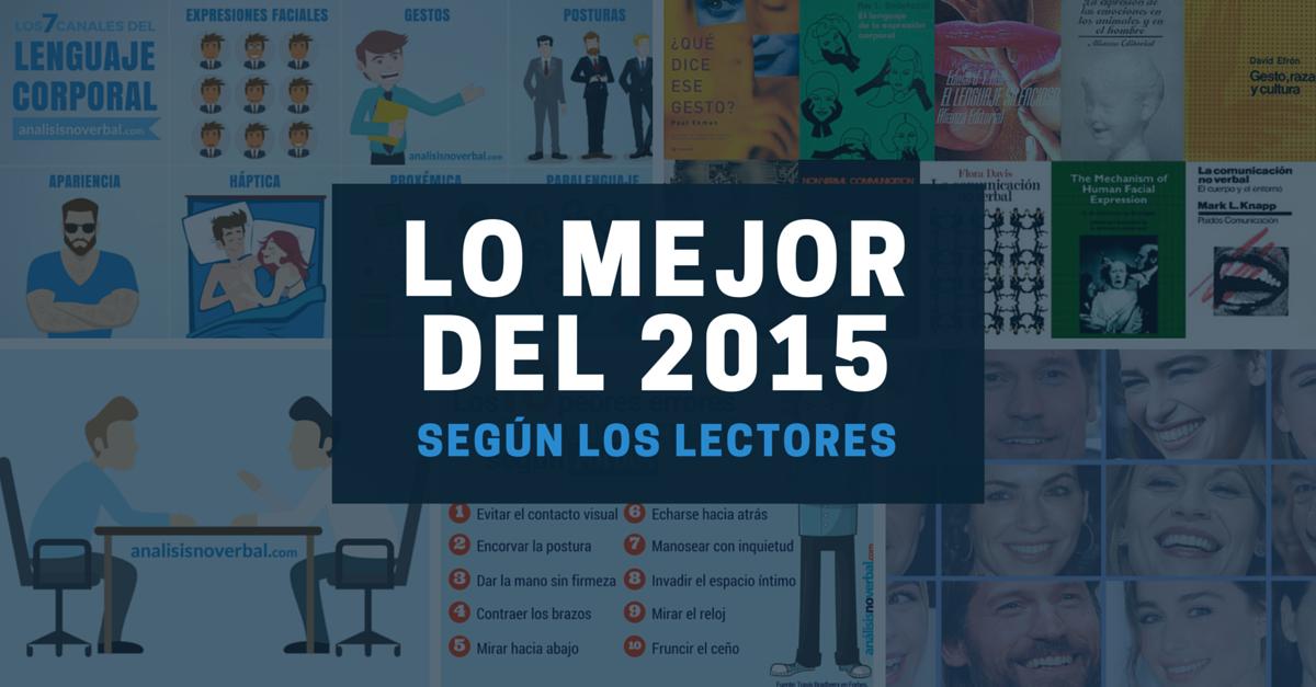 Los cinco artículos de comunicación no verbal más leídos del 2015
