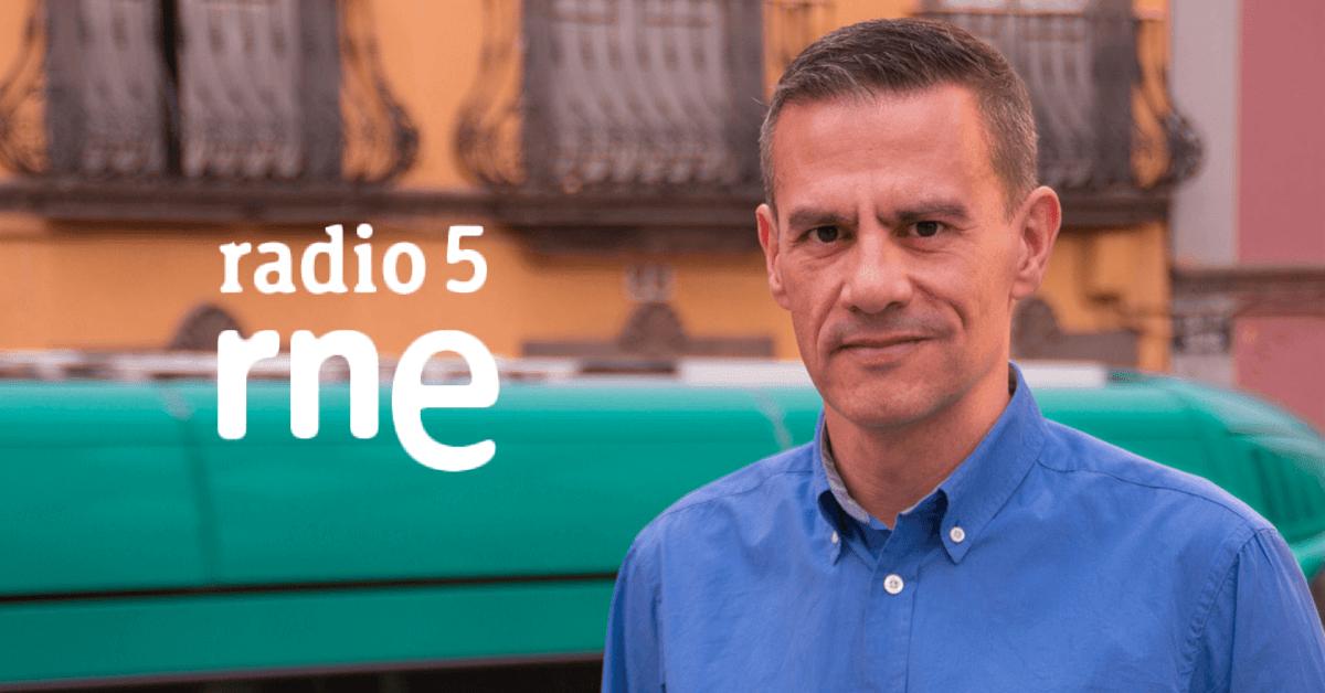Entrevista a César Toledo en Radio 5 de RNE