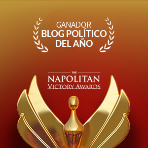 analisisnoverbal.com, premio Napolitan Victory Award como mejor blog político del año por la Washington Academy of Political Arts and Sciences