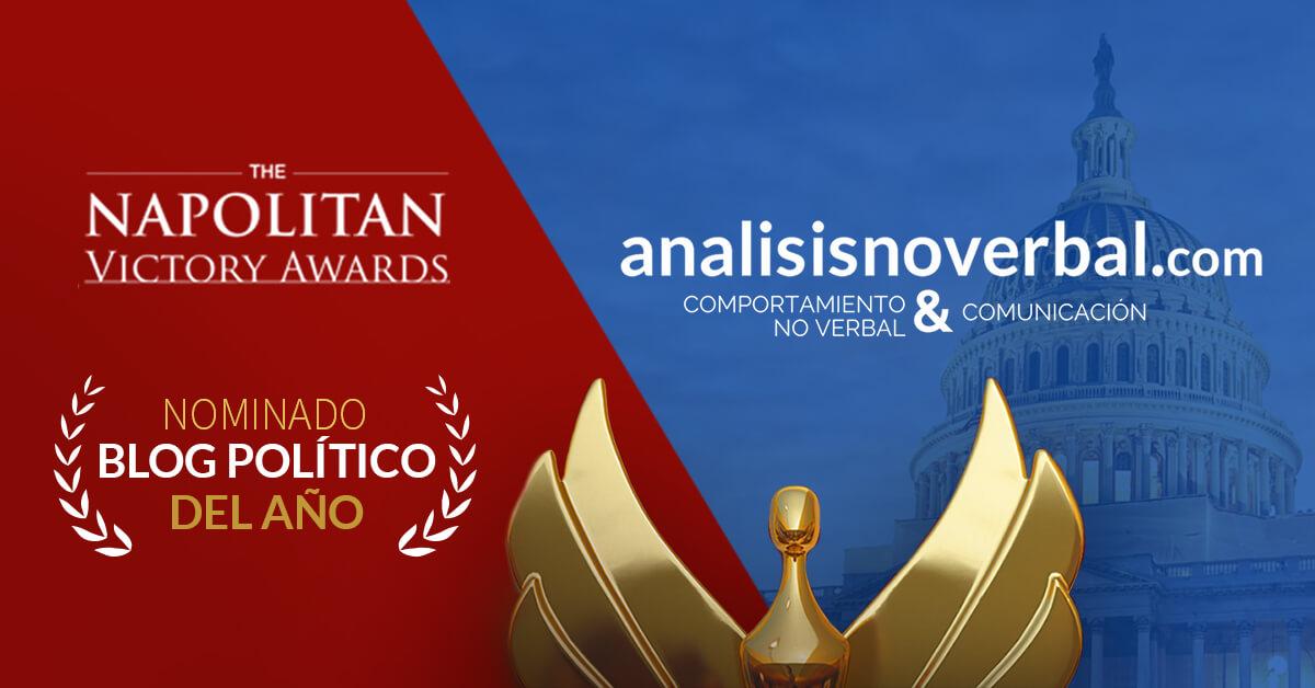 """Analisisnoverbal.com, nominado """"blog político del año"""" en los Napolitans Victory Awards"""