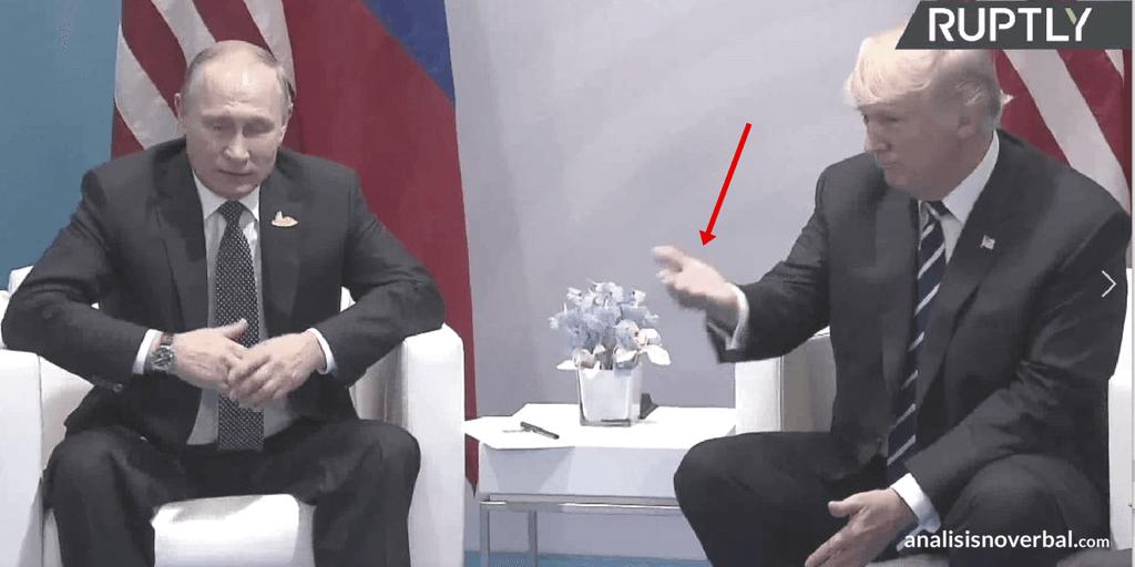 Trump dirige al acción en su encuentro con Putin