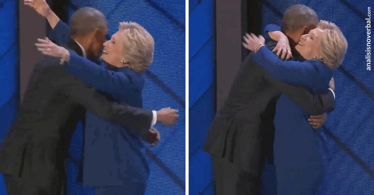 Simetría y sincronía entre Obama y Hillary Clinton