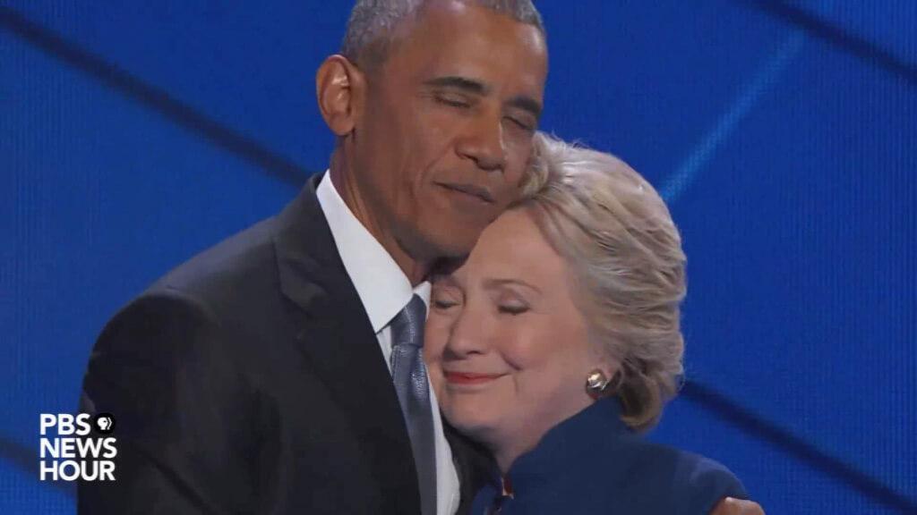 El rapport entre Hillary Clinton y Barak Obama