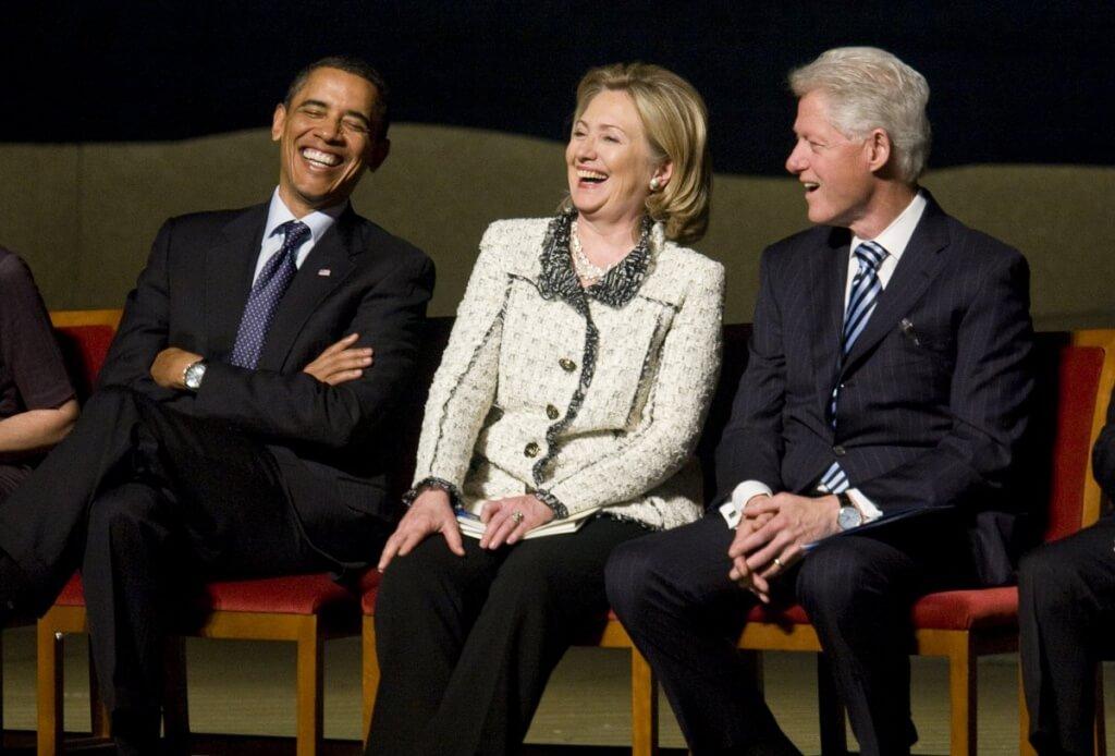 Rapport entre Hillary Clinton y Barak Obama