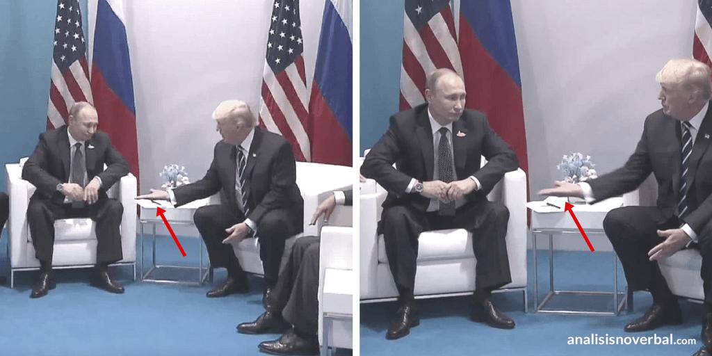 Trump toma la iniciativa a la hora de saludar a Putin