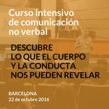 Curso de comunicación no verbal - Barcelona