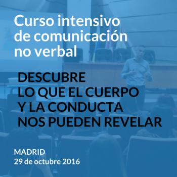 Curso de comunicación no verbal - Madrid