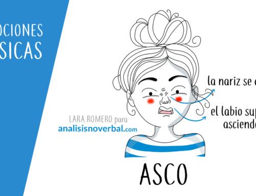 La expresión facial de asco en la comunicación no verbal