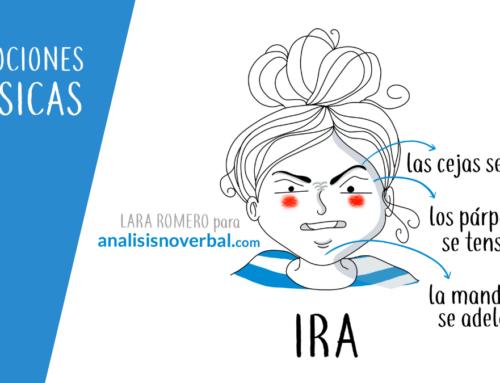 La expresión facial de ira en la comunicación no verbal